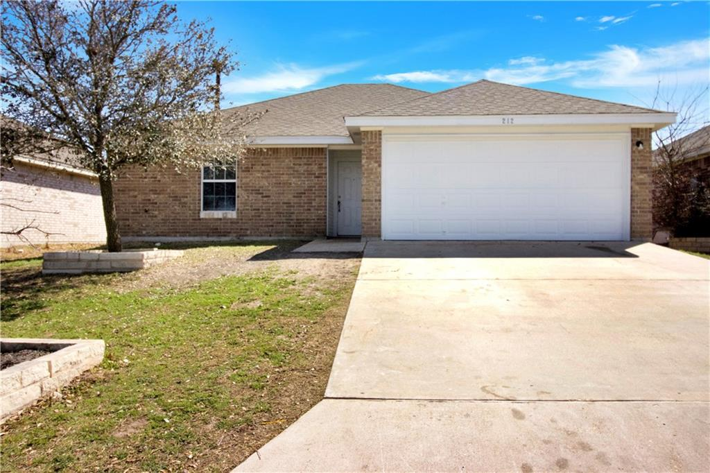 Charming home with great community amenities located in Sonterra, easy access to 35 to commute to Austin, Temple, Killeen, Belton and Waco. This single story has 3 Bedroom 2 bath 2 car garage, Spacious living room, Vinyl and Tile throughout the house, fresh Paint, Beautiful Built in Fireplace, split plan, exterior brick walls on three sides on the house. Community pool, picnic areas.