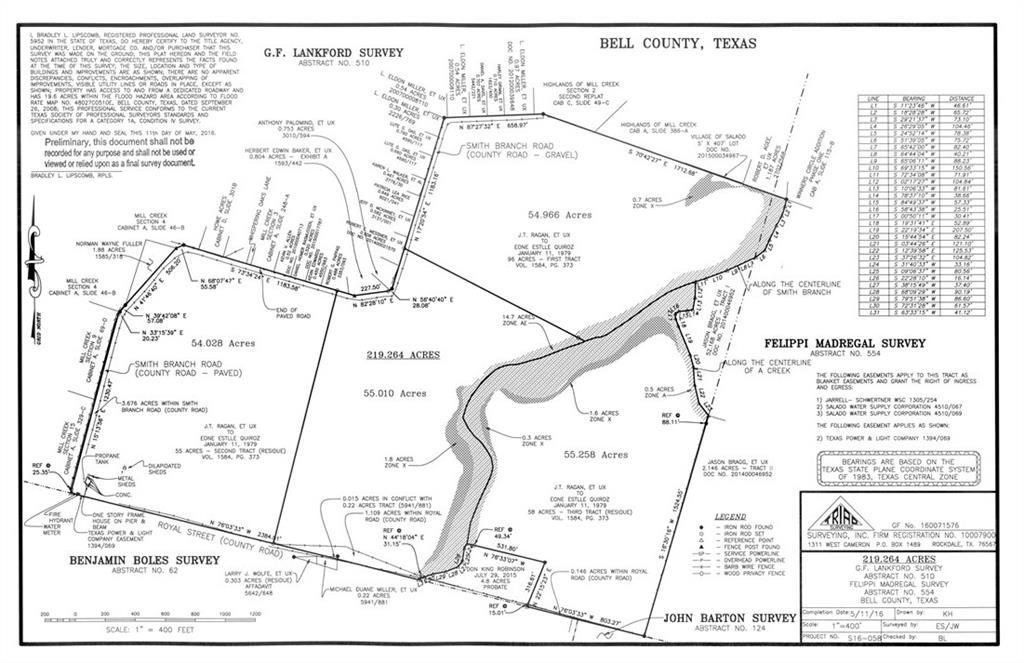 Get a piece of one of the last unrestricted properties in the Salado ETJ. Build your Dream Home Ranchette with rolling hill country, or with the upcoming development, it would be an excellent spot for RV, Boat & Mini storage units. Endless opportunities. You better capitalize while you can!