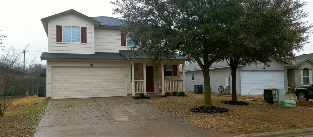 Don't Miss This Beautiful 3-2.5-2 Two story home with 2 living areas on a large lot. All new wood look tile thru-out main floor and bathrooms. Fresh paint inside and out, new 2 inch blinds thru-out. Walk-in closets, All bedrooms up stairs. Master with tub and separate shower. Breakfast room and formal dining. Garage door opener and more!! Owner will except offers Thru Monday 3/8/21 till 5pm cst.