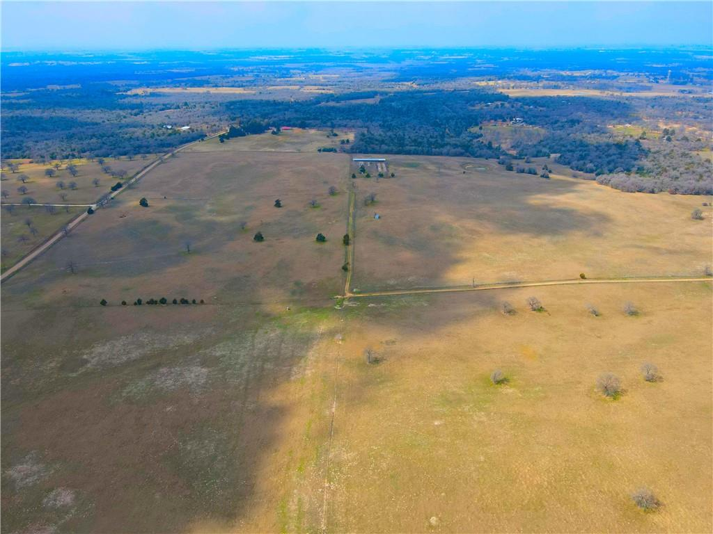 This ranch is approximately 110+/- acres with a 60' deeded flag access point from County Road 238C featuring 1/2 acre tank, large corpus of old mature hardwood trees, and incredible views. The entire western portion of the property is fenced, the remainder of the property perimeter would require fencing.