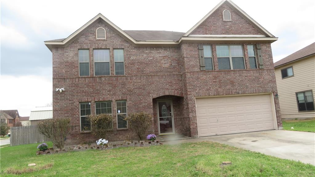 Massive Home, for large family…. This wonderful home boasts 4BR/2.5BA in Belton ISD. Spacious living area with a wood-burning fireplace and a spacious formal dining area. Attractive kitchen with plenty of storage space, center island, breakfast area, breakfast bar. This home features a Texas style patio, Whirlpool Tub, and storage shed. Walk in pantry with lots of storage. The second floor features a gigantic master bedroom, which allows for office space inside of bedroom, with a large walk in closet. The theater room is plug and play, with projector, and built in speakers, ready for entertainment. Master bathroom has separate vanities, separate shower & Jacuzzi tub. This home has just been freshly painted.