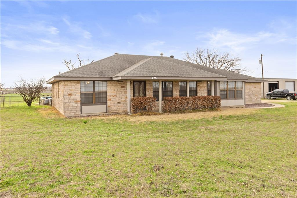 The possibilities are endless with this property. Close to SH 130.  Located within Round Rock ETJ.  House is 3 bedroom 2 bathroom that also has a converted garage into a game room.  Price is including the 2400 square foot shop, however, buyer can elect to leave the shop off for less. Highest and best use would be commercial use. Buyer to verify square footage and zoning if changing from AG usage.  Seller not responsible for any roll back taxes if use is changed.