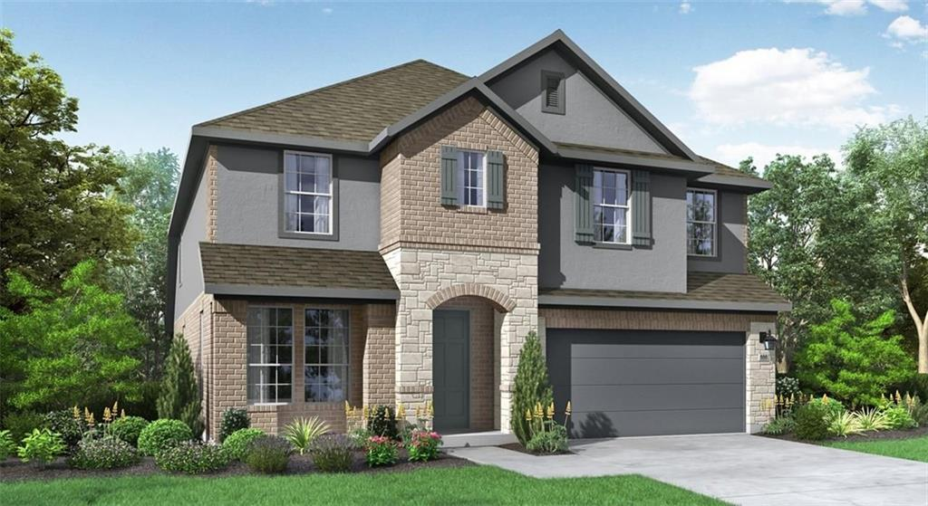 GFO HOME - READY MAY - Grant 4231 is a 2-story home with 5 bedrooms, 3 bathrooms and 2-car garage. Features include breakfast area, covered patio, dining room, family room, game room, master bed downstairs, sprinkler system and walk-in closets.