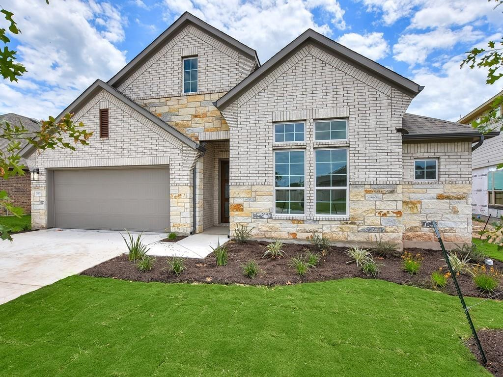 GFO HOME - READY MAY - Fillmore 4125 is a 1-story home with 4 bedrooms, 3 bathrooms and 2-car garage. Features include breakfast area, covered patio, dining room, family room, game room, sprinkler system and walk-in closets.