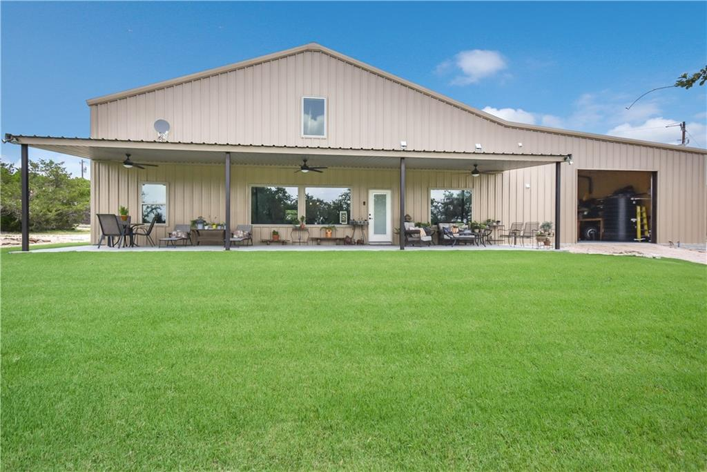 Fall in love with this stunning micro-ranch in the laid-back hill country paradise. This listing includes a custom-built house (barndo-minium) and a large barn that sits on 6.084 well-landscaped acres. This beauty has custom woodwork and separate water and septic systems.  This location is within a short distance of local eateries, shops, Cedar Breaks Park and is located close to 183A road, which allows for an easy commute into the city.