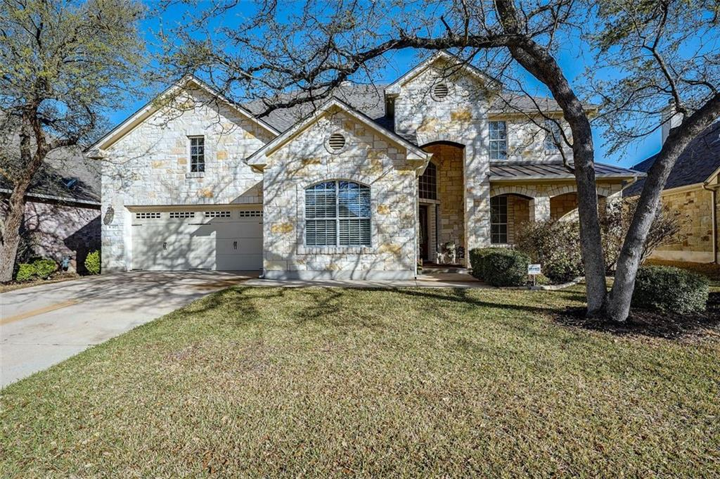 This is a beautiful home located in the highly desired Red Oaks neighborhood and feeding into award winning Leander ISD schools. Fantastic location with easy access to downtown and Austin Tech Centers. Walking distance to the Elementary School and the YMCA. Just a short drive to restaurants, Lakeline Mall shopping and the Farmer's Market on the weekend.   This Open Floorplan boasts vaulted ceilings, main level master bedroom plus a dedicated office. Upstairs you have a game room and media room / bonus room along with 3 additional bedrooms and 2 full bathrooms. The kitchen features granite countertops, a large island and stainless-steel appliances. The backyard is perfect for entertaining even during the hottest days of summer. It features a large, covered patio with new ceiling fans, a built-in gas grill, large dry bar, a pergola and party lights. In addition, Red Oaks residents have access to a community pool and playground. All this with easy access to Hwy 183, 183A Toll and 45 Toll! Don't miss this one!!