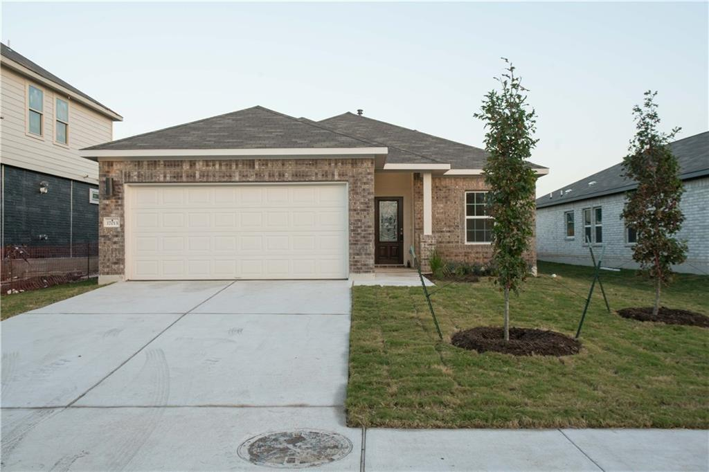 Currently Rented until May 2021. Beautiful 4 bedroom 2 bath single story home with spacious  backyard  in highly-sought-after Carmel community with Community park and pool! comes with  interior blinds, garage remote, & refrigerator . Close proximity to Weiss High School, Lake Pflugerville, SH 130, SH 45, Costco, Baylor Scott & White Medical Center, Typhoon Texas Water Park, Stone Hill Town Center and the future Amazon fulfillment center.