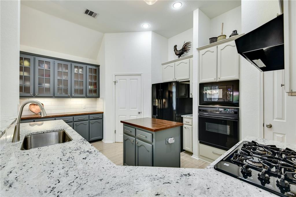 Beautiful one-story home on an oversized lot in Scofield Farms. Lovingly maintained, this home shows like a model home! Lots of windows to let the natural light in. High ceilings and open layout. Remodeled kitchen (2017)with painted cabinets with upper glass inserts, new hardware, granite counters, recessed lighting, and a Bosch dishwasher. Gorgeous landscape and an amazing backyard with plenty of space to relax or entertain. Scofield Farms is a great community with easy access to Mopac and 35. It is close to the Domain, restaurants, and major employers.