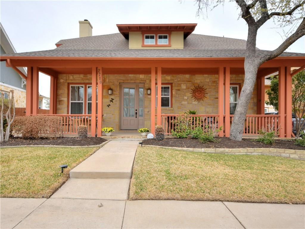 This charming original owner home shows the pride of ownership!  Built with Craftsman style influences it is warm and inviting.  Updates include luxury vinyl plank flooring, stainless steel Viking appliances, updated backsplash and lighting.  Kitchen offers granite countertops, expansive cabinets, an island and breakfast bar, two sinks, spacious pantry and the stainless steel refrigerator will convey   The kitchen's breakfast area is currently set up with a couple of comfy chairs - so option for sitting area or breakfast dining.  It's 1 1/2 stories - the upstairs features an oversized gameroom with a half bath and an en-suite bedroom and bath.  The 3 living areas include a study with French doors, family living with fireplace and the upstairs gameroom.  Another en-suite bedroom and bath is nestled downstairs and the 3rd bedroom down is oversized and has an adjacent bath.  Loads of storage!  Great closets in the bedrooms, primary bedroom has a custom closet, and a large storage room off the gameroom.  The detached garage sits behind a wrought iron fence and gate.  And did I mention there are mature trees in the backyard and the home backs to the Fred Couples Signature Golf Course?  Twin Creeks features a mandatory Community Membership that the owners participate in ($122 + tax per month) and you have options for additional social and golf memberships.  Social community with numerous HOA social events, pool with waterslide, clubhouse and restaurant, tennis courts and more.