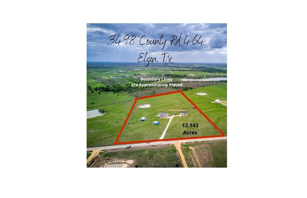 13.14 3ACRES with two custom built homes. Country living close to Austin!! The MAIN HOME is a stunning 2440 square feet home with 4 bedrooms, 2.5 baths, with a large living room and a separate room with french doors that could be a second living area, a home office, or work out room. The Primary bath has a walk-in shower, soaking tub and a large, open walk-in closet with center island and shelves to organize. Space out of the back doors to create the perfect outdoor gathering space.  2.5 car garage. The SECOND SEPARATE HOME is a spacious 1215 square feet home with 2 bedrooms and 1.5 baths and a 1.5 car garage. Both homes were built in 2016 and have separate septic systems, electric and water meters. Thoughtful design and updates throughout both homes. Top of the line stainless appliances, granite countertops and high ceilings. Fandeliers in Primary Bedrooms. Lots of storage and closet space. Lightning rods have been added to both houses for extra protection against lightning strikes. The 13.143 acres has plenty of room for horses to run or training and areas for hay storage and shelter. A large stock pond is at the back of the property. New fencing around the houses and a small corral. Property currently is home to goats, horses, donkeys, cattle, and guineas. Plenty of land for gardening or whatever you care to imagine. There is an enclosed dog kennel set up with 20 dog runs, which includes water, electricity, and heating/cooling space. The dog kennels suffered some storm damage and will need a new roof.  This is the perfect multi-generation living experience or rent the second home for additional income. Property could be split later, Buyer to verify with county requirements. No Restrictions.