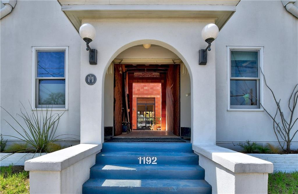 This historic architect designed home blends the past and the future perfectly, keeping the mission style exterior, rough hewn flooring and adding modern flow - salt water pool - gardens - solar and much more. The courtyard is framed by towering walls of terra cotta block (which has been manufactured in D'Hanis, Texas for 100 years), and is a well of light and verdancy that focuses the rooms and fills every inch of the house. The main entry became an open-air, dogtrot breezeway, funneling breezes and confounding the expectations of the simple white stucco exterior. The architect/owners commitment to light and the outdoors is matched by a belief in the sensuous, vital quality of materials- Terra Cotta block, Wood (oak, longleaf pine, cypress, ipe´), encaustic tile, steel, board formed concrete and venetian plaster. In fact the whole house is dedicated to Austin's unique, elemental way of living, from its charming historic character to the enticing swimming pool, with every exceptional, mindful touch in between.