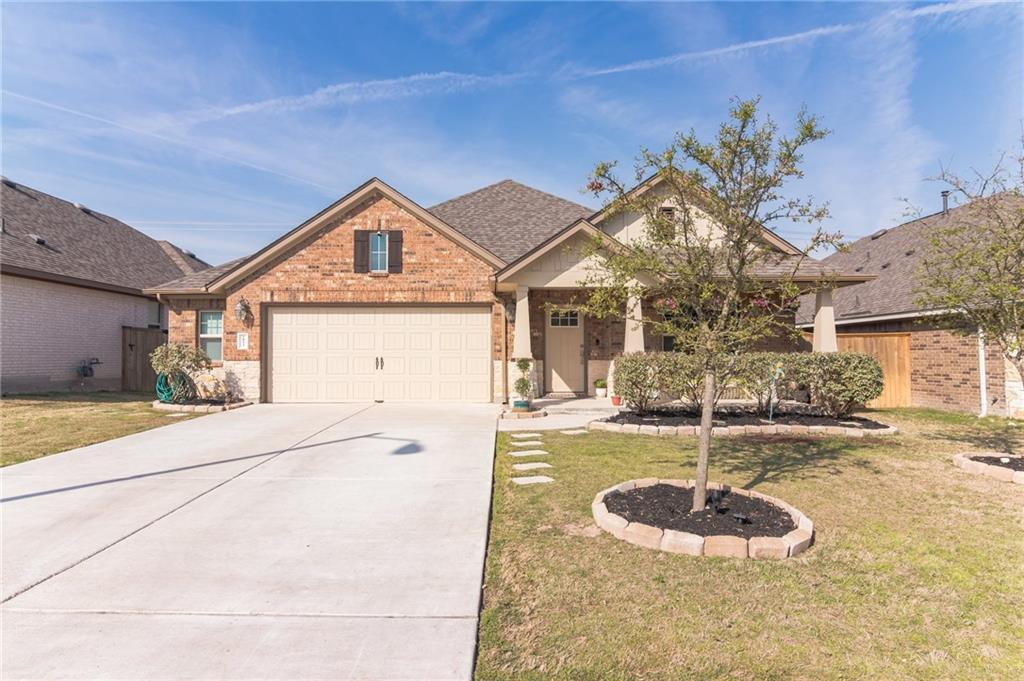 Multiple offers, Highest and best by 5pm Monday 4/12  3-bed/2.5-bath single-family, single-story home located in one of Round Rock's most sought-after neighborhoods, Paloma Lake. Just steps from the A-rated RRISD Herrington Elementary, this home boasts a long list of custom and premium features and upgrades, including vaulted ceilings, spacious bedrooms with walk-in closets, 17 x 17 tile in common areas, granite countertops and huge island, subway-tile backsplash, oversized sliding barn door, stainless steel appliances, tankless water heater, recessed lighting, walk-in pantry, TWO flex spaces perfect for kids playroom, a 4th bedroom AND a hardwood-floor study/den, pre-wiring for whole-home audio, 2.5 car garage with custom billiards wall and garage door noise & temperature insulation installed, upgraded home security (Ring doorbell & Google Nest outdoor cam), charming front porch patio and extended, covered backyard patio with amazing sunset views and a whole host of other custom touches you'll have to see. This one won't last so act fast. See documents for exclusions. Sellers will need a temporary lease back until May 30th, 2021.  Don't miss the interior and drone video attached! https://homejab.com/property/view/2933-diego-dr-round-rock-tx-78665-usa