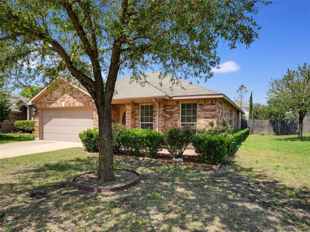 Beautiful 4 bed 2 bath home in the heart of Hutto. Spacious and accessible family room connected to open concept kitchen/dining area. Primary bedroom suite separate from guest bedrooms. Recently replaced HVAC and interior freshly painted. Close to all Hutto amenities, schools, and major roadways for easy access, and neighboring cities. Property is sold as is.