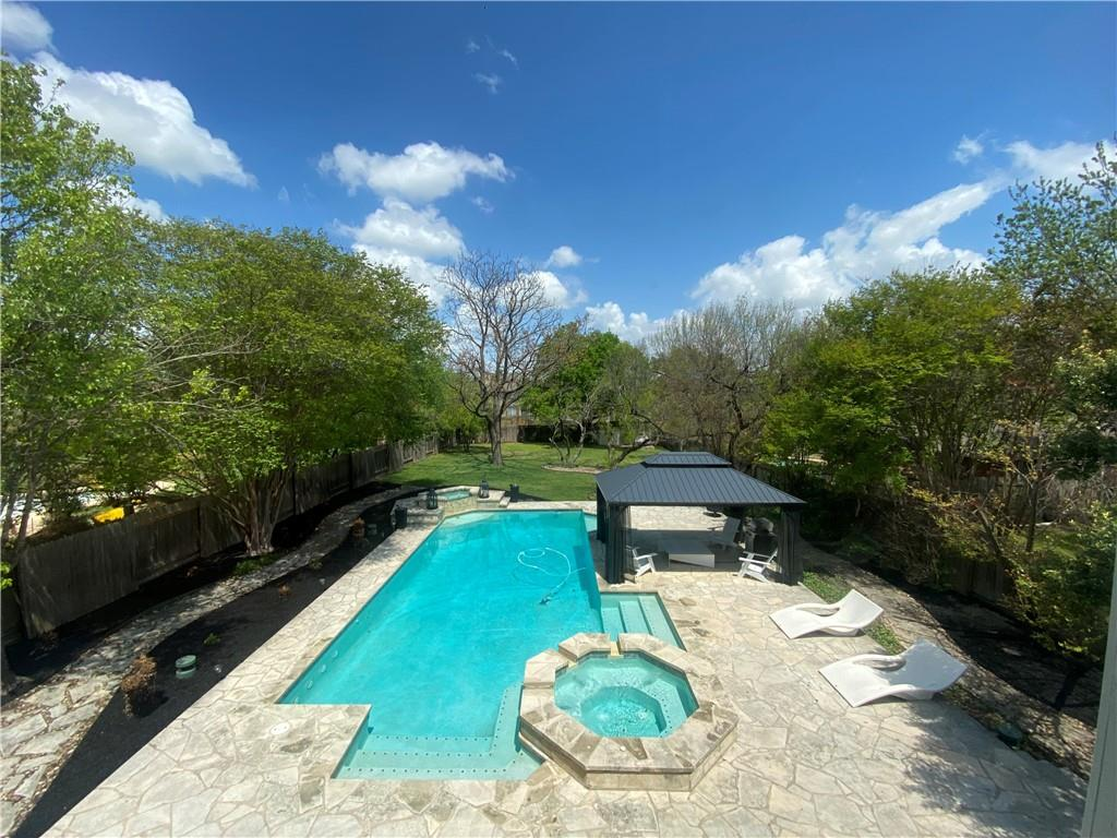 """**MULTIPLE OFFERS** Submit """"Highest & Best"""" by 7PM MON 4/12. DON'T MISS THIS ONE! START PLANNING YOUR MAY SWIM PARTY!  - ULTIMATE, RARE, HUGE POOL / BACKYARD OASIS on 1 of the LARGEST LOTS (.397A) in AREA N in GREAT NORTH AUSTIN LOCATION ONLY 7-10 MINS to DOMAIN, APPLE, AUSTIN FC STADIUM! Agents Agree, """"this is a Jaw Dropper!"""" Amazing Place w/""""RESORT-STYLE LIVING"""" - SO Great for Our Times! Perfect for Entertaining - 4BR/2.5BA w/Master Down Opens to Deck/Pool for Incredible Outdoor Living! Gorgeous Dining (2) Flooded w/Natural Light! Wall of Windows across Back Provides Amazing Views w/Updated FP for MODERN VIBE! See Virtual Tour Link for Fun Video Slideshow + Matterport 3D Walkthrough!"""