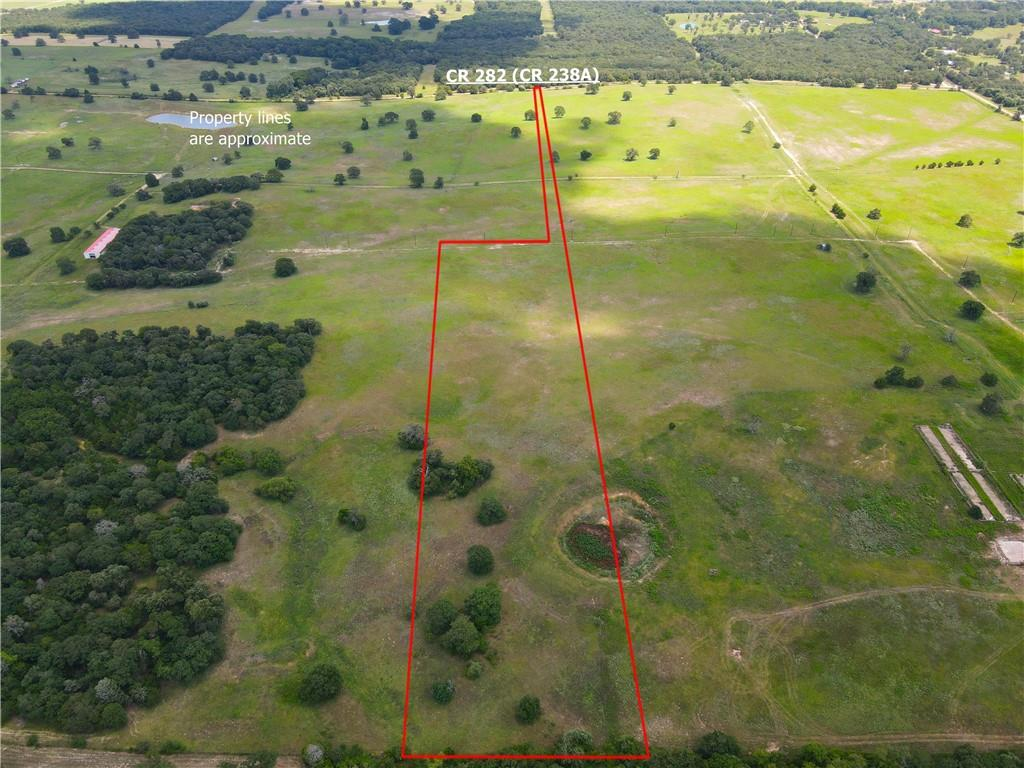 Formerly a part of a top-tier ranch. This property is approximately 10.22 acres, there is more acreage available if needed. Water & electric will be available. This would be a great spot for someone looking to have for a weekend get away or permanent homestead. This is a quiet area with gorgeous views. 30 miles from Bryan-College Station, 60 miles from downtown Austin, 39 miles from Temple, 140 miles from downtown Houston, 150 miles from Downtown Dallas