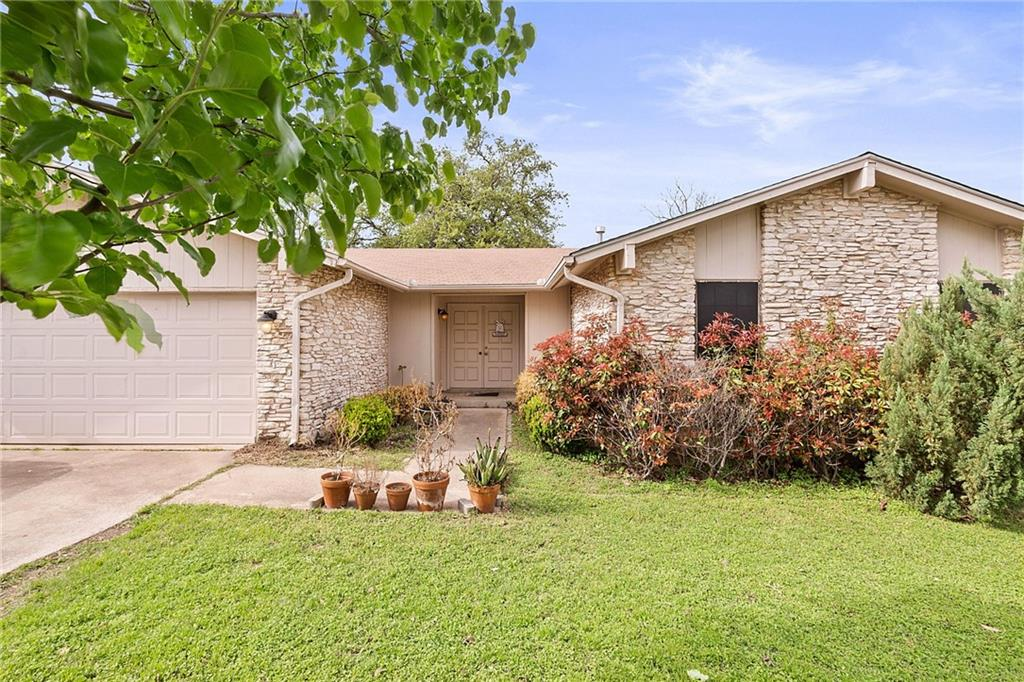 INVESTORS ONLY.  Home is leased out for $1700 per month until 3/2022. Pre-inspected (available). 3 bed/2 bathroom home in a GREAT north Austin neighborhood.  RRISD and goes to Purple Sage, Noel Grisham, and Westwood HS.  Laminate wood floors in the main living space, tile in the kitchen/dining and carpet in the bedrooms. Fireplace with rock surround. Vaulted ceilings. Eat-in breakfast area & gas stove. Primary bedroom has a private bath, dual sinks, and walk-in closets. Spacious indoor laundry room. Patio and fully fenced yard. 2 car garage. HVAC was replaced in 2019.