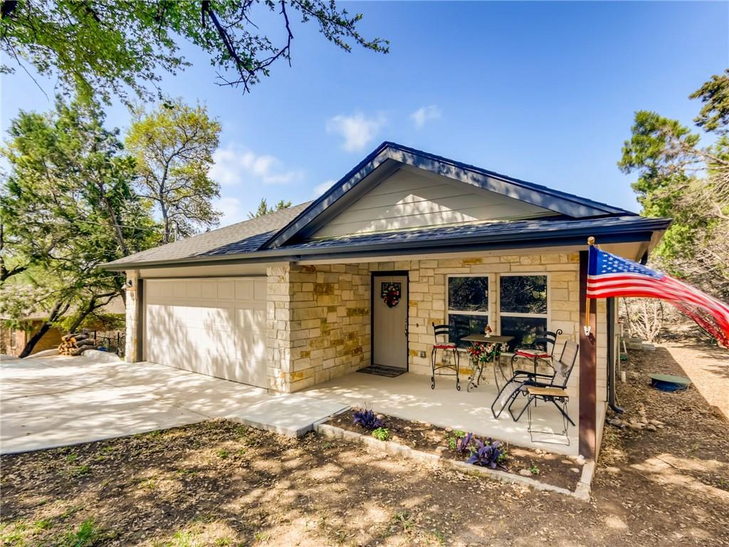 Nested in one of Lago Vista's beautiful established neighborhoods, this home stands out as a 2017 build with upgraded interior features including granite counter tops, walk-in master shower, high ceilings, double master vanity, and more!  Come enjoy all Lago Vista has to offer including private lakeside parks, pools, & tennis courts! Drink your morning coffee on the covered back porch and enjoy watching all the wildlife in this private backyard. Seller is requesting a 2 year leaseback, this is negotiable.