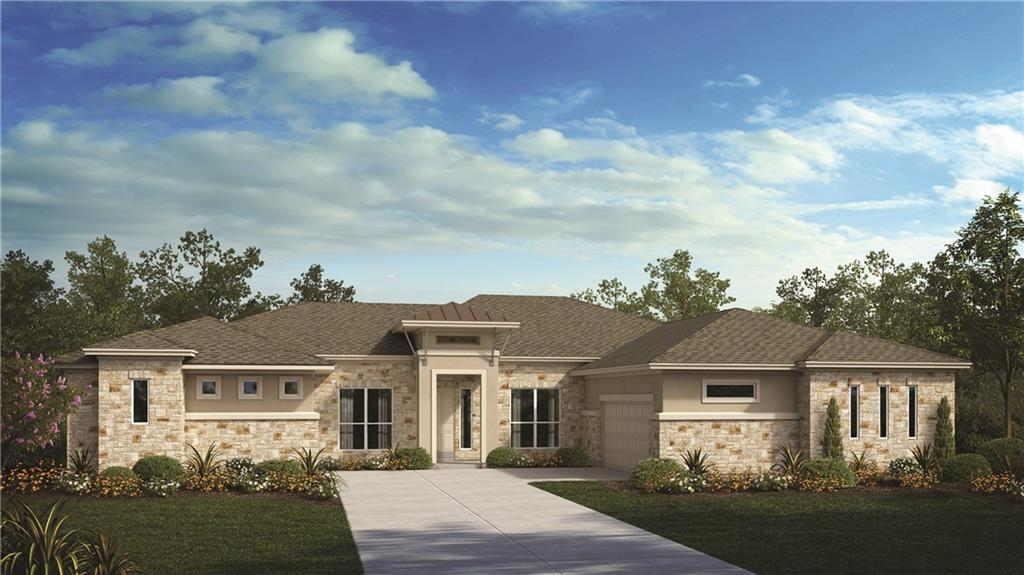 Best and final offer due by 6:00 p.m. on Sunday, April 18, 2021. Please see Sales Associate for details. Home is currently under construction. WOW!  A Brand New ranch 3694 SQFT floor plan with stunning details throughout.  This home has a 3 car garage facing in at the front, 4 bedrooms, 3.5 baths including a luxury owner's suite with oversized shower and soaking tub. The family room opens to the kitchen outfitted with Painted Grey Cabinets, Omegastone Countertops, and Stainless Steel built in appliances. Entertain family and friends in the great Game Room. Enjoy your hill country evening on the oversized patio. There are too many upgrades to list.