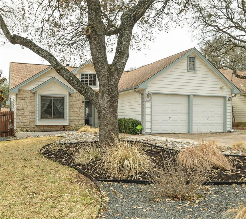 This fabulous 1 story home is located on a quiet street off McNeal Dr. just south of Parmer and is beautifully UPDATED!! It offers 3 bedrooms - 2 baths - 2 car garage and is very LOW MAINTENANCE! From the recent- all NEW Renewal by Anderson Windows, the never paint siding & extensive REAL WOOD Floors (no carpet!!) this beauty shines. This is a GREAT OPEN FLOORPLAN with the kitchen OPEN to the Family Room!! There is even a storage bldg.. in the back yard to give you more room in the garage! See the attachments for a list of UPGRADES! Both baths have been updated with new cabinets, stone counters & walk-in showers. Antique Hickory wide plank wood floors in living area & all bedrooms.