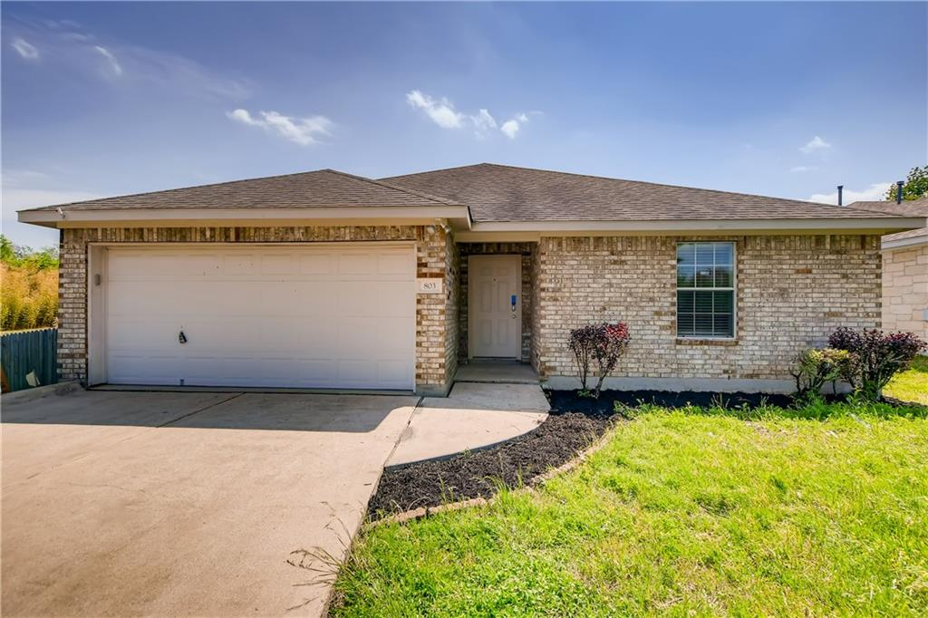 This well-maintained 3 bedroom, 2 bathroom single-story home is peacefully situated on a cul-de-sac in tree-lined South Creek. A functional entryway dressed in wood laminate flooring opens to an open, airy living room with elegant chandelier lighting hanging from a high ceiling. The galley-style kitchen is equipped with a newly installed dishwasher, ample counter space, and recessed lighting. The adjacent breakfast area enjoys bay windows that overlook a private backyard. Tucked away towards the back of the home is a secluded primary bedroom showcasing a tray ceiling, dual closets, and an en-suite bathroom. Additional highlights include a laundry room with overhead cabinets and an oversized 2 car garage.