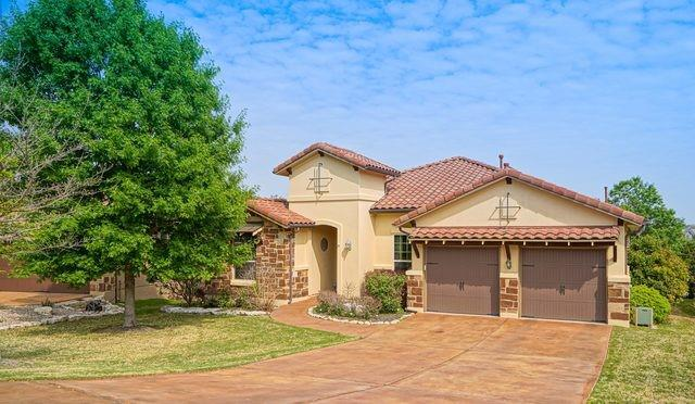 Stunning entertainers dream home located in upscale gated golf course community! This home has million dollar views (Deer crossings right in the back yard) sitting on a east facing backyard to the golf course and no rear neighbors with an outdoor stainless steel kitchen equipped with an upper deck porch and a $75,000 Pebble Tec premium in-ground swimming pool with Baja shelf, self-clean caretaker system and swim up bar! Visit www.projectkim.com/austin to book a showing