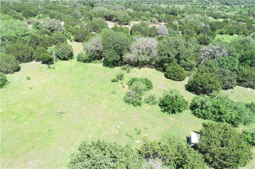 Private and secluded 116 acres of heavily wooded ranch with canyon/draw and 20-mile views to the North. Great for a private, personal, and recreational getaway or residential development.