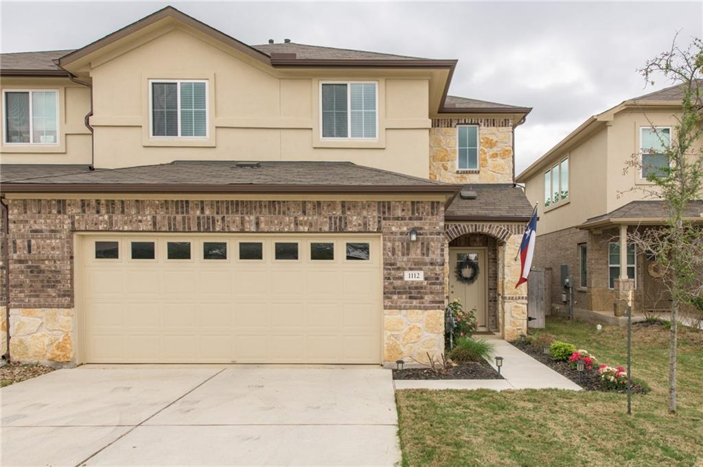 Take a look at this DR Horton beauty. Built in 2018 and gently lived in. Ideal proximity to 35 and new medical centers.  This delightful community has access to trails, splash pads, multiple pools, tennis courts and the golf course!  All neutral tones, great canvas to make your own with little effort.  Extremely efficient home, average monthly bills: electric $75 summer/$35 winter, water/trash/utilities $95  Seller would love a month lease back if possible.