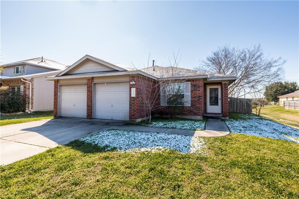 INVESTMENT PROPERTY - Active Lease. 3 Bedroom 2 Bathroom.  *Water Heater Rplcd 2020 *Low maintenance costs for the past 2 years. *Professionally Maintained & Managed by Prop Mgr. *5min to Toll 130, 5min to Hutto Downtown Center with Restaurants, Shops, Dr. Offices. *Great Investment Opportunity.