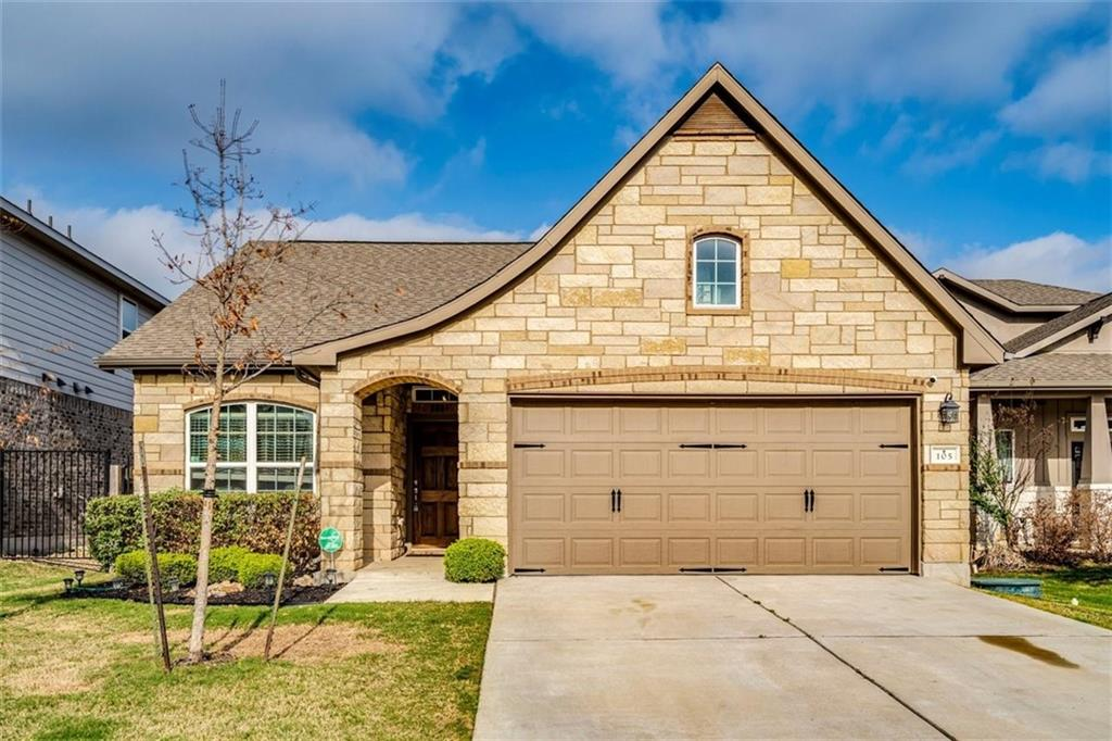 Check out this attractive home in the hill country community of Rancho Sienna in Georgetown!  You are within easy access to Austin while enjoying life in a quaint small town setting of Georgetown.  The neighborhood is surrounded by beautiful Hill Country parks and trails, highly regarded Liberty Hill schools and warm and friendly neighbors. This community also includes accommodations for your four-legged family members, from doggy showers to pooch parks! The social heart of the community is the Sienna House which includes a pool, fitness center and event pavilion for you to enjoy!  The home has a very sought after open floor plan with a dedicated office to accommodate working from home! Situated on one level, the 3/2 home features a spacious kitchen with a large island that can be used for morning breakfasts or informal family meals. The living room boasts a nice-sized fireplace and large windows to allow lots of natural light into the home.  In the back, you will find a covered porch and a large, fenced yard just waiting for you to make it your own!  This house will not last long, so come check it out today!