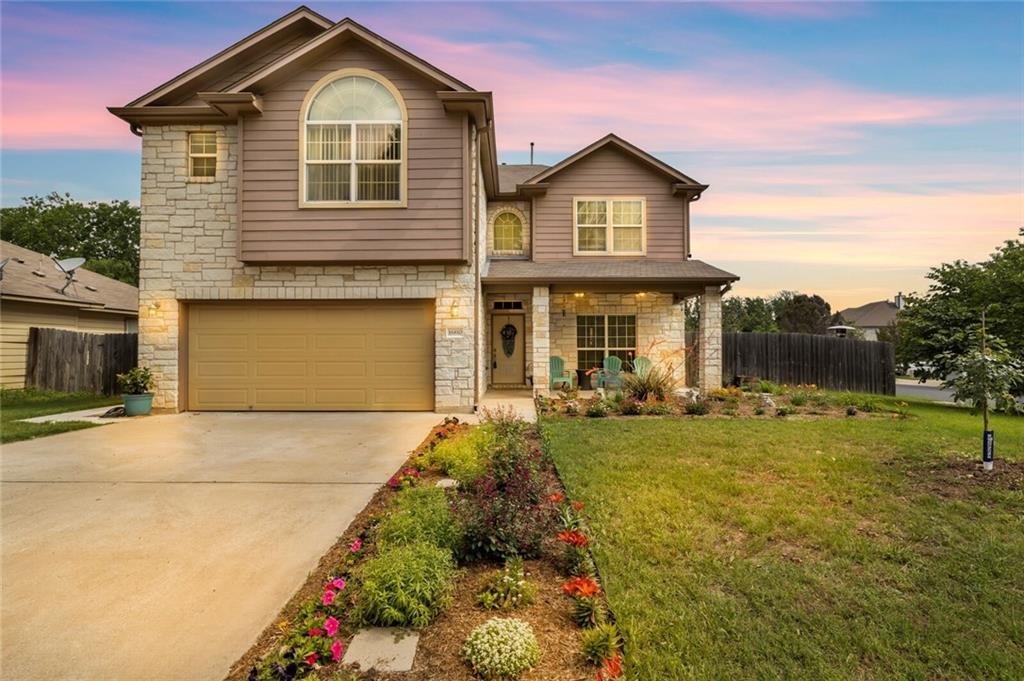 Located on a large corner lot, this custom home is unique in Block House and newer than most. This gorgeous home is located in the much coveted Block House Creek Subdivision! One of the newest and largest homes in Block House  it is a must see. Four bedrooms and a formal dining/flexroom, there is plenty of room to stretch out--workout room/office and after work, retire to your own back yard oasis--an in ground pool! Beautiful wood-look tile floors, tile and new carpet, and a new roof in progress, HVAC new, pool pump new--you'll have years of enjoyment without bothersome maintenance issues. For the avid or novice gardener, this home comes equipped with a large greenhouse. The Block House subdivision has it all, two public pools, one a Jr. Olympic pool(open year round for lap/pleasure swimming-heated in winter)the other, a beach entry pool with slide for the kids(and the kid in you), multiple, expansive parks with BBQ grills, tables and large mature oaks, beach volleyball, tennis courts, basketball courts, walking trails, bike trails, BMX trail, and marked bike lanes throughout the subdivision. Cedar Park etj, close to Costco, shopping, toll expressway and 11 mins to express rail into Austin. NO HOA. Pre-inspection available. Hot water heater(50 gallon), pool pump, filter, salt cell, HVAC are all new. Home has a water softener and whole home filtration system.