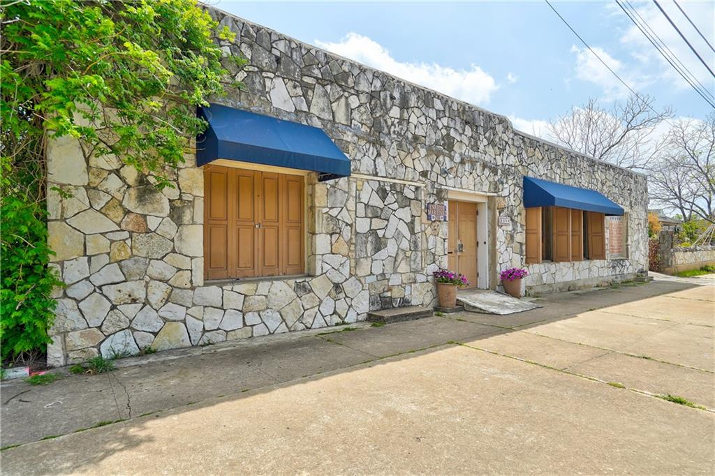 Don't miss this prime Downtown Austin mixed-use property located at the corner of 9th St. & Lydia St. This unique property offers the owner an option to run a business and reside in the same location. There are many possibilities to create an eclectic live/work space. Currently this is a pediatric doctor's office with a large reception area, office room and three patient meeting rooms. The residential side includes two bedrooms, living room, kitchen space and laundry room. The backyard is a private shaded courtyard with a peaceful water fountain and fenced with a sliding gate for access. Floor plan and survey available.