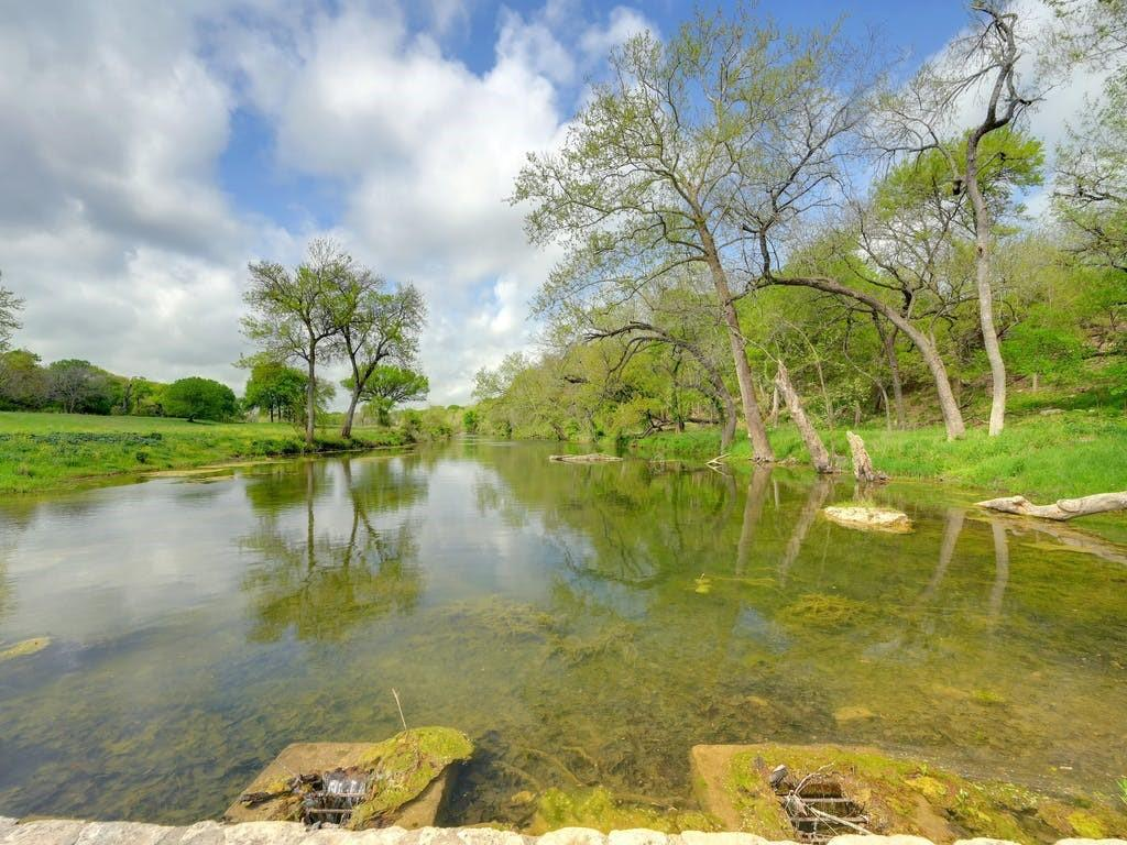 Salado Creek property with water, water, water.  Amazing views with over 3,000 ft of frontage on Salado Creek.  This is a must see property if you enjoy hill country, large trees and live running water.  Truly this is a one of a kind property.
