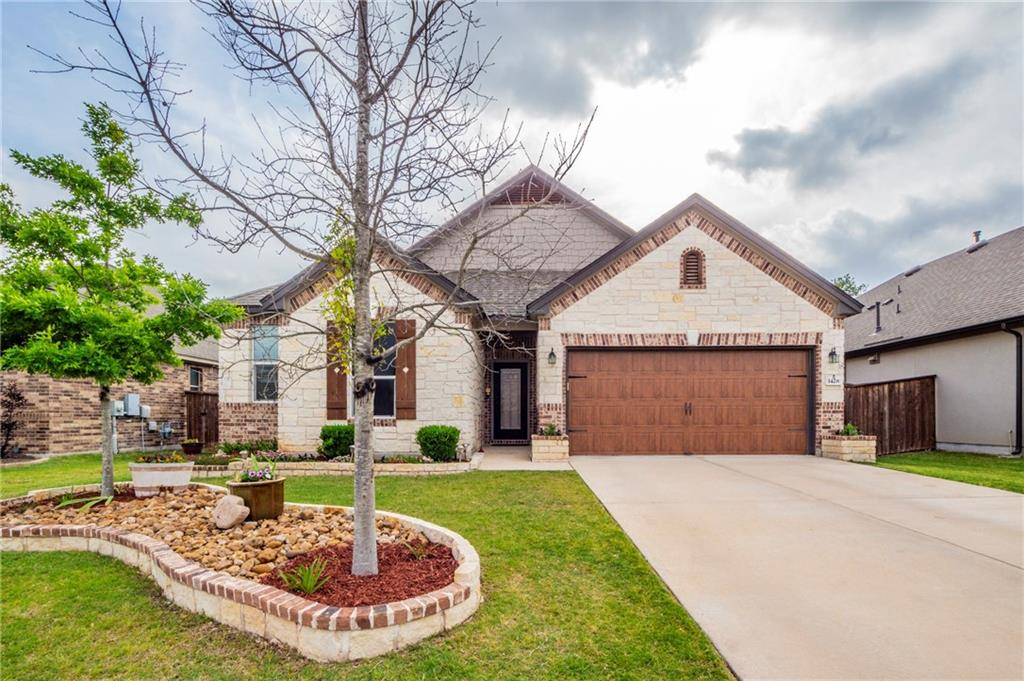 Just listed!! This beautiful 3 bedroom, 2 bath home is ready for new owners!! This pristine home is located in the popular Mason Hill subdivision in Leander. Located just minutes away from schools, retail shops, and outdoor amenities!! This home features an open floor plan, an office, a formal dining room, and so much more. If you love the outdoors, this home is in walking distance to the community park, pool, and walking trail. Schedule your appointment today to check out this stunning home!
