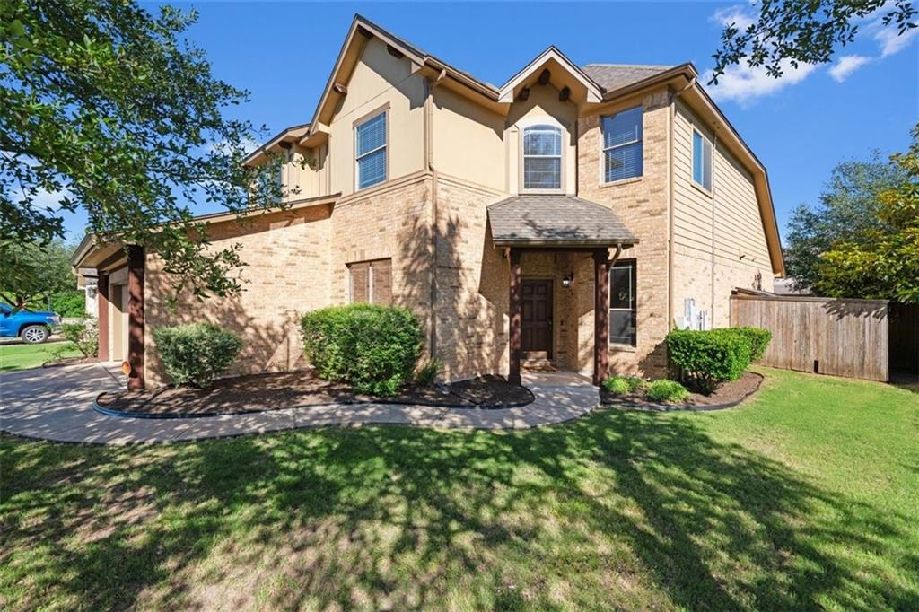 Stunning Energy Efficient Avalon home with upgrades throughout! Welcoming entry and sunny study/flex space plus formal dining, leading to open and spacious gourmet kitchen featuring upgraded cabinetry, stainless appliances, granite counters, and huge island, overlooking dining area and family room with wood flooring and fireplace feature wall.  Serene main level premier suite has attached spa bath with double vanities, garden tub, separate shower, and walk in closet. Second level game room, plus 3 additional bedrooms and two secondary full baths. Beautiful curb appeal and extended outside living space great for entertaining, and earth friendly energy efficient solar panels.  Enjoy all of Avalon's community amenities, along with convenient location near highways, shopping, and restaurants. See 3-D tour here: https://my.matterport.com/show/?m=vs1xSkcqSTs&mls=1&ts=0