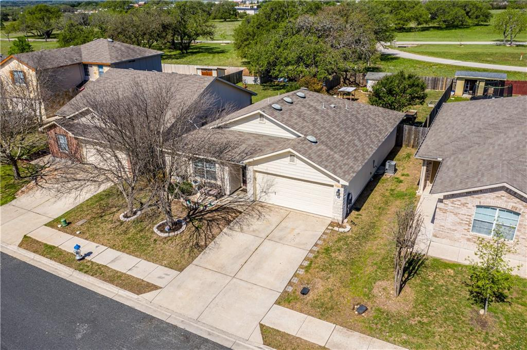 *Highly Desired Stonewall Ranch* You will LOVE watching our Texas Sunsets from your Backyard Deck with No Neighbors behind you! Don't miss out on this PRE-INSPECTED, Spacious, Great Functional Floorplan, Primary Bedroom separate from Guest Rooms and Big Backyard with Shed. Walking distance to the Elementary School. Don't miss this one!