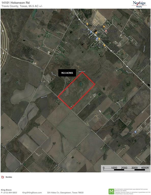 95.5 acres of land perfect for future development.  Has a small house and barn that have been vacant for some time.  All of the property is in a Qualified Opportunity Zone. With the exception of the house and barn all of the land is under AG valuation.  Just outside the city limits of Austin the property is in the Austin ETJ without any current zoning.  A small part of the NW portion of the property (about 4 1/2 acres) is in the zone area.  Has small water line to the property but fire flow water is 1,800 west at Burklund Farms Rd.  Currently there is  not any access to sewer.