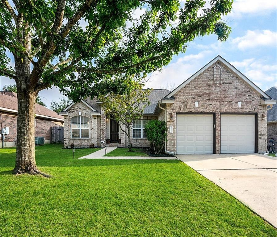 You will not find another home like this in a golf community. When you open the door to this awesome 1 story home you will find yourself at peace. Open the 9ft door and you will walk into a lite pathway entrance  wide and open. What do you look at first? To the right you will see a relaxing get away from the world, a room to just breathe and grab a book. From the left you will enjoy working from home in your upfront office. Look straight ahead & you will find yourself working by the pool. This home is updated with custom paint and accent walls. Step out to your sparkling private pool with fiber optic lighting. Watch your favorite sports w/friends from the pool or set up your own bar area. If you love to entertain this is the perfect place. Kitchen updated, a new look for the cabinets, new color with brush Nichol hardware, hard wire under counter lighting, Large island to oversee and talk to your guest or family. Quartz counter tops and stone backsplash. Lots of storage and drawers.  Sensor faucet at sink, Stainless appliances, flooring is engineered hand scraped laminate. 100% new roof will be put on soon. The master suite is another retreat of its own, overlooking the pool. En-suite offers separate shower and garden tub, double vanity, with large walk-in closet. The secondary bedrooms are large, and the laundry room is right there as you walk in from the garage. Lots of storage in the garage that you will have for tools.  Frigerator, washer/dryer can be negotiated. The tv's throughout will not convey. The brackets will.  The pool table in the garage is negotiable, the bar out by pool, and pool furniture do not convey, including bar & high top table in garage . Swimming Pool does have a cover that is cut perfect for it.  All staging furniture, pictures, rugs, decor, is owned by either the owner or Designs Unique. Some staging items can be purchased. Major corp. close by Amazon, Tesla, Samsung, Dell, Costco, Stonehill Shopping Center, Schools, Toll & easy to anything