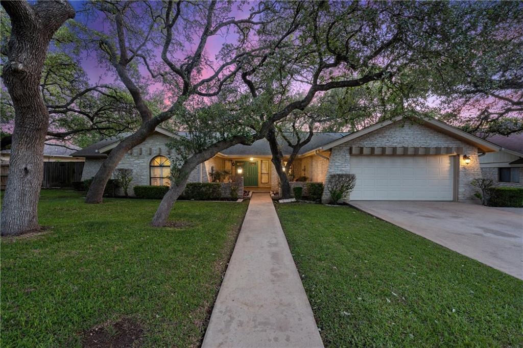 ONLY home available in highly sought after San Gabriel Heights! One of a kind opportunity for a house with character, mature oak trees and an oversized lot! You'll be immediately captivated by the curb appeal, colored doors, spacious front patio and mature Oak trees. This home offers 2 living areas and a sunroom opening up to a backyard oasis! Open floor plan flows into a large living room w/ wood burning fireplace, den, formal dining room, breakfast area, and updated kitchen. The owner's suite is spacious w/ sitting area and an updated walk-in shower. Large windows invite tons of natural light throughout the home. Attached is an awesome sunroom (with central HVAC) overlooking a custom deck and stone patio. Restaurant lighting, more mature live oak trees and plenty of space to entertain! Leaf guard gutters, custom plantation shutters, recessed lighting, automatic sprinklers in front and back yards, original oak flooring, plus more! They don't make them like this anymore!