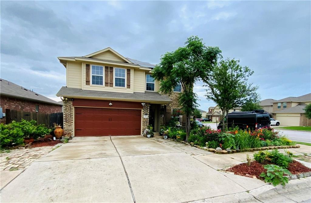 Corner lot... check! Solar upgrades... check! Downstairs master and office... check! Come check... out this listing before its gone! Open floor concept with 18ft ceilings gives this home a luxurious feel! The spacious kitchen with island and eat in dining flows right into the back yard covered deck to enjoy the outdoors as you entertain. The upstairs sports three bedrooms and a game room with french doors over looking the living room from the banister. Potential for 6 bedroom home! Schedule your showing today as tomorrow will be to late!