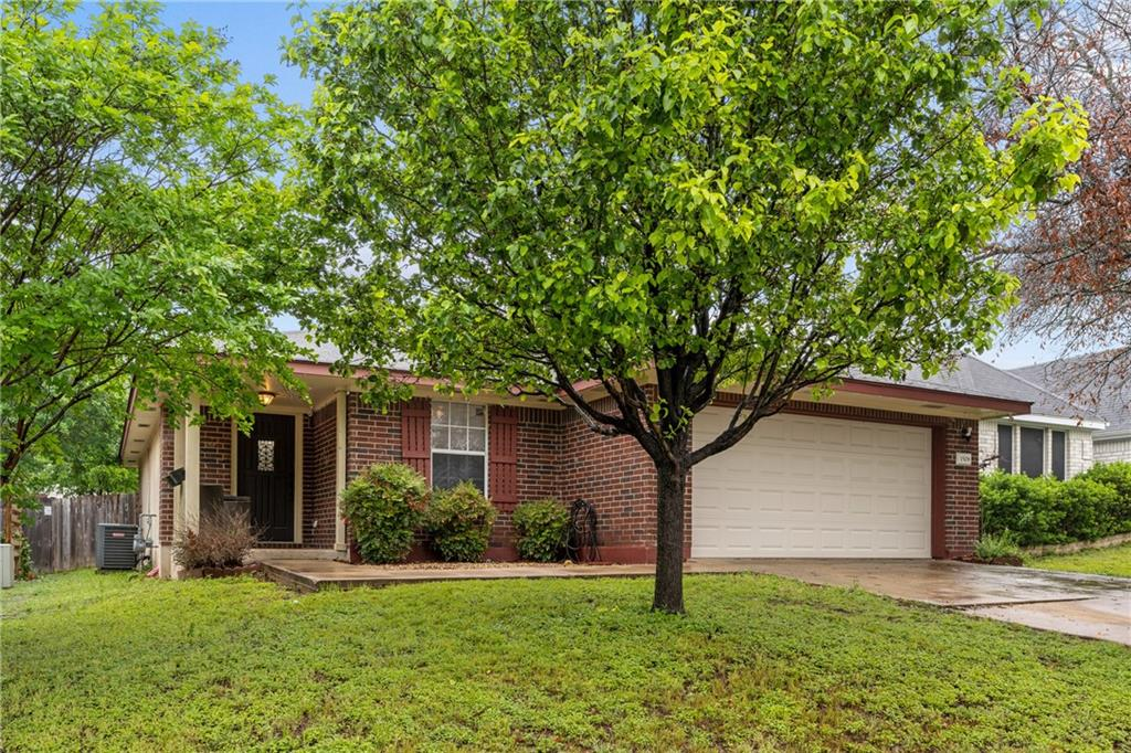 Beautiful 3 bedroom, 2 bath home in Mason Creek. Move in ready. No carpet. Fenced backyard. Open floor plan, ideal for entertaining, great mother-in-law floor plan, excellent location, down the street from neighborhood amenities (park/pool); approx. 3 miles to Austin Shuttle
