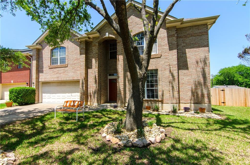 Well maintained home in close proximity to Cedar Park High School.  Updates include quartz countertops in kitchen (2021), partial fence replacement (2021), guest bath remodel (2019), water heater (2018), kitchen appliances (2017), HVAC (2016) and roof (2014). Three living areas which include an upstairs game room and lower level living room with see through fireplace to the study.  Three car tandem garage offers plenty of storage.  Cul-de-sac lot provides plenty of room for a future pool.