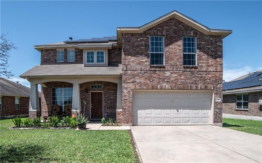 """This is a wonderful 4 bedroom family home in a great location. Downstairs you'll find an office with French doors, large living area with wood burning fireplace, kitchen and dining, 1/2 bath, plus laundry room. Crown molding abounds in main areas of the home. Upstairs is the owner's retreat with it's own bathroom and walk in closet. The master bath has both a shower and garden tub. There are three additional bedrooms up so all of the kids can have their own space plus a large flex space / game-room.  Out back you'll find a garden shed and a nicely laid out garden area with raised beds. The covered patio provides plenty of deck space for entertaining. Owners recently had a top notch """"87%""""solar system installed which will convey! Carrier HVAC w/10 year warranty installed 2019! New microwave on order!"""