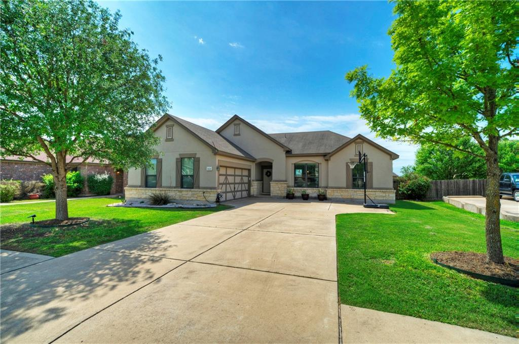 "Simply amazing! This bright, open 3 bed, 2 bath stucco and stone house is situated in the highly desired Spring Trails. Gorgeous hardwoods adorn the entry, family room and dining room. The kitchen delights you with silestone countertops, stainless steel appliances, 42"" espresso cabinets and an eat-in bar. All wet areas are attractively tiled. The fireplace invites you in and makes you feel at home. Spacious primary bath features separate tub & shower, double vanity and walk-in closet. The extended deck makes enjoying the large back yard a breeze. Other notable bonuses include a nest thermostat, water softener and energy efficiency. Private community park includes pool, covered picnic area with bbq grills (bring your own fuel) and playground. Book your showing!"