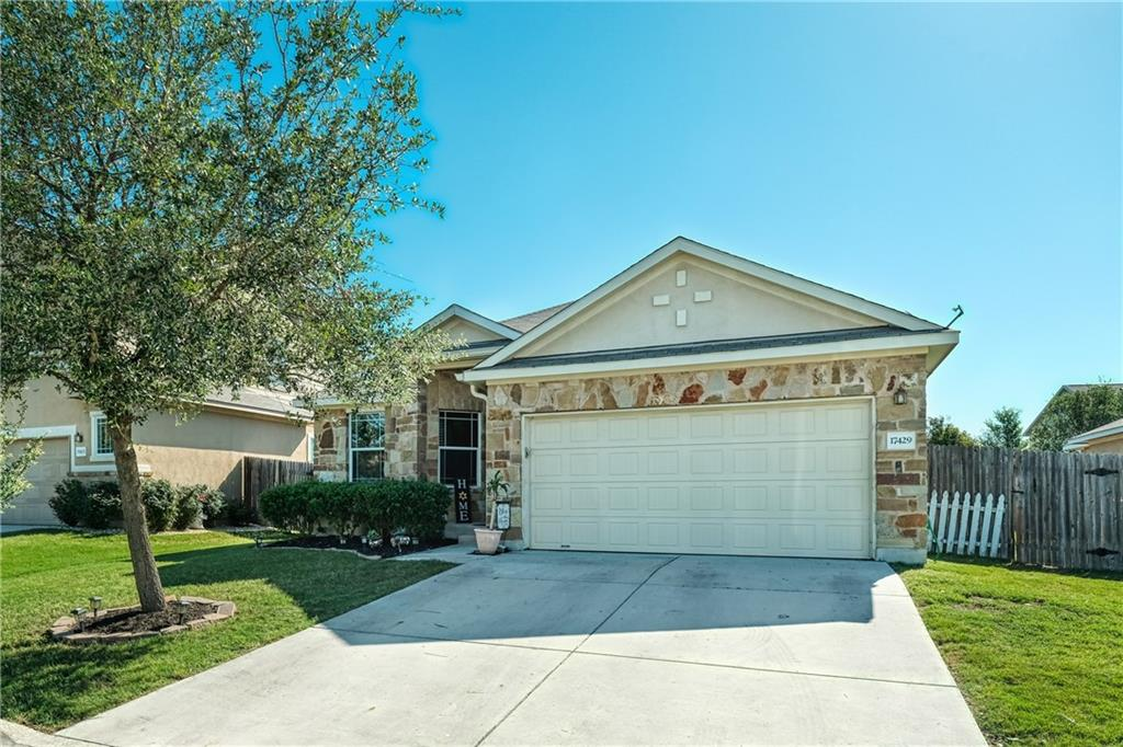 Beautiful 1 story 3 bedroom, 2 bath home in the desirable Reserve at Westcreek Subdivision.  This home boasts an  open floorplan, private landscaped backyard, spacious bedrooms, and 2 car garage.  Master Bedroom includes on suite bathroom with extended vanity, soaking tub, standing shower, and large walk-in closet.  Beautiful Kitchen features granite countertops, black appliance, 42 inch upper cabinets, pantry and breakfast bar.  Enjoy evening bbq's in your private backyard with large covered patio.  This home wont last long, make it yours today.