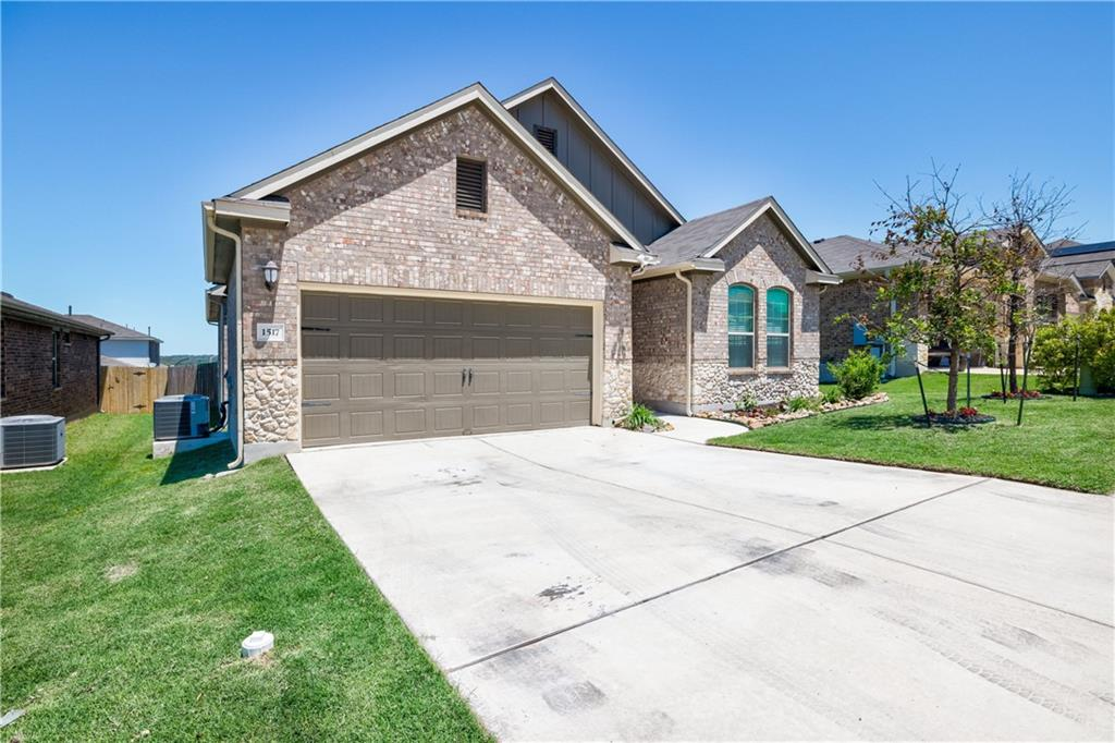 Please Use COVID Precautions. Come see this great open floor plan with 3 bedroom 2 bathroom 1 story home. All appliances convey.