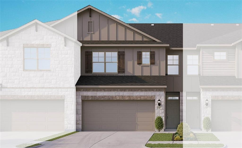 "Acadia B plan with features that include kitchen island with pendant lights and omega stone counters, 42"" upper alvarado linen cabinets, extra ceiling fans, dual vanity in owner bath, walk in owner shower with seat, and wood plank flooring on main. Available August."