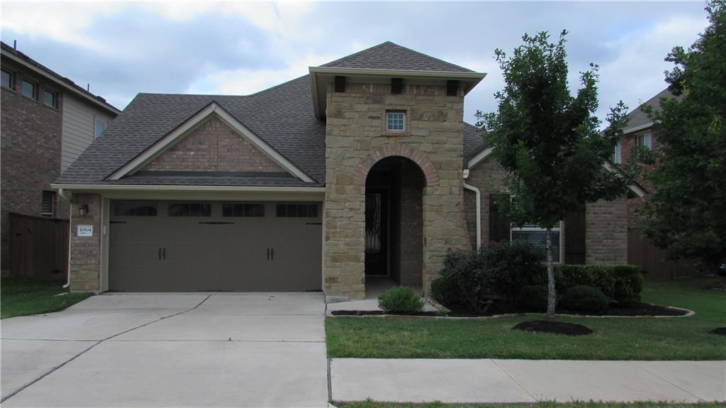 **OPEN HOUSE HAS BEEN CANCED DUE TO WEATHER CONDITION THIS SUNDAY,MAY16TH FROM 1 PM TO 3 PM.** Beautiful one-story home (3 bedrooms + office/den) in Avery Northwoods built in 2016 by David Weekly. Great location near 183 /45, Lakeline shopping and dining, Home Depot and H- Mart (Asian grocery store). High ceilings and fully loaded gourmet kitchen that opens to the living room and dining area. Large master suite with double vanity master bathroom and a huge walk-in closet with mirror. Office/den with a French-doors.  Relax in the backyard under a covered patio with 2 ceiling fans. Community amenities include a pool, playground, and community center.