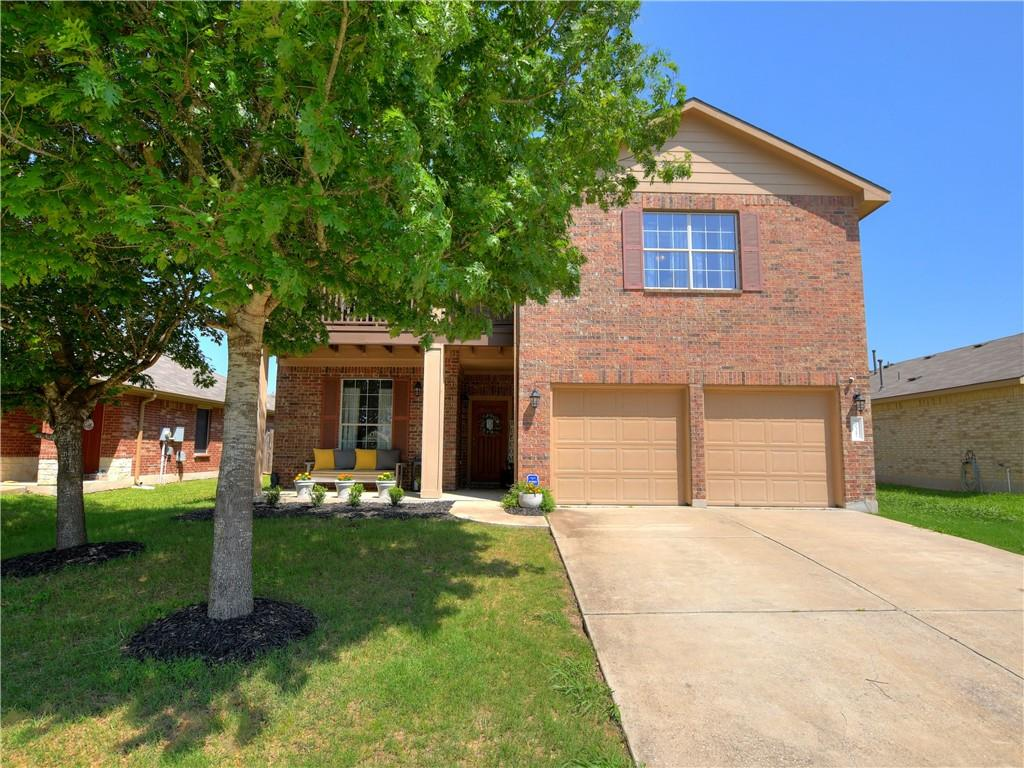 Beautiful spacious brick home with lots of upgrades including 26 solar panels with 8.19 kw per panel, full house air purification system, and water softener and filtration system with reverse osmosis at kitchen sink. Open floor plan with recent interior paint, recently installed SS appliances, lighting fixtures.  Generous family room down that opens to kitchen with both overlooking the backyard.  Wood floors in living & dining, no carpet on main level. Large gameroom upstairs with generous size bedrooms. Great location, close to park, shopping, schools.