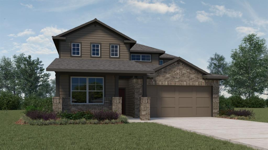 UNDER CONSTRUCTION - EST COMPLETION TBD.  Great two story floor plan with room to grow!  Thoughtful planning puts two bedrooms down and two up, with a spacious living area on each level!  Bedroom 1 has a serious clothes lover's walk in closet, tile walk in shower, and double vanity!  One of the few plans with 3 Full Baths, plus there's a covered patio, and oversized garage!  We have a really great play ground and we're close to everything that gives Hutto its charm!  5 minutes to historic downtown Hutto and the Co Op District, and another 5 minutes to Dell Diamond and Kalahari!