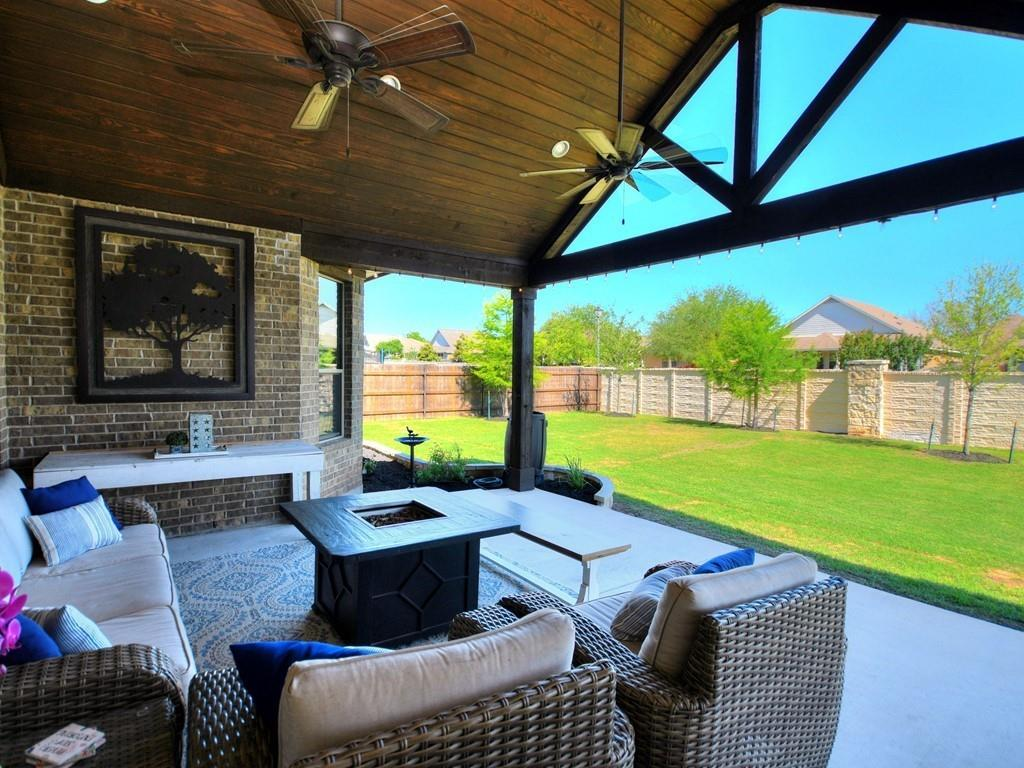 Stunning 5 bed and 4 full bath home in the highly desired Blackhawk subdivision!  This is an excellent floorplan for a large family and you still have plenty of room for guests.  The home has been very well taken care of and boasts so many custom features, like having your very own media room and being able to enjoy the highly custom outdoor living area.  Come see for yourself and make this home your very own!